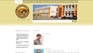 Saurashtra University Department of Pharma